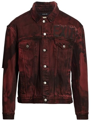 Ksubi Oh G Super Nature Distressed Denim Jacket