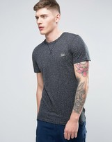 Jack and Jones Originals T-Shirt in Marl Cotton with Chest Logo
