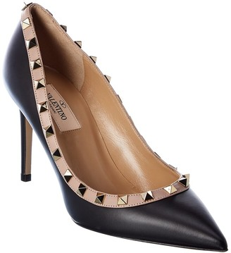 Valentino Rockstud 100 Leather Pump