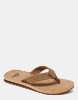 Quiksilver Mens Carver Cork Thongs