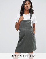 Asos Overall Dress in Cord