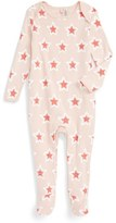 Stella McCartney Infant 'Rufus' Fitted Star Print Footie