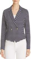 Three Dots Newport Stripe Blazer