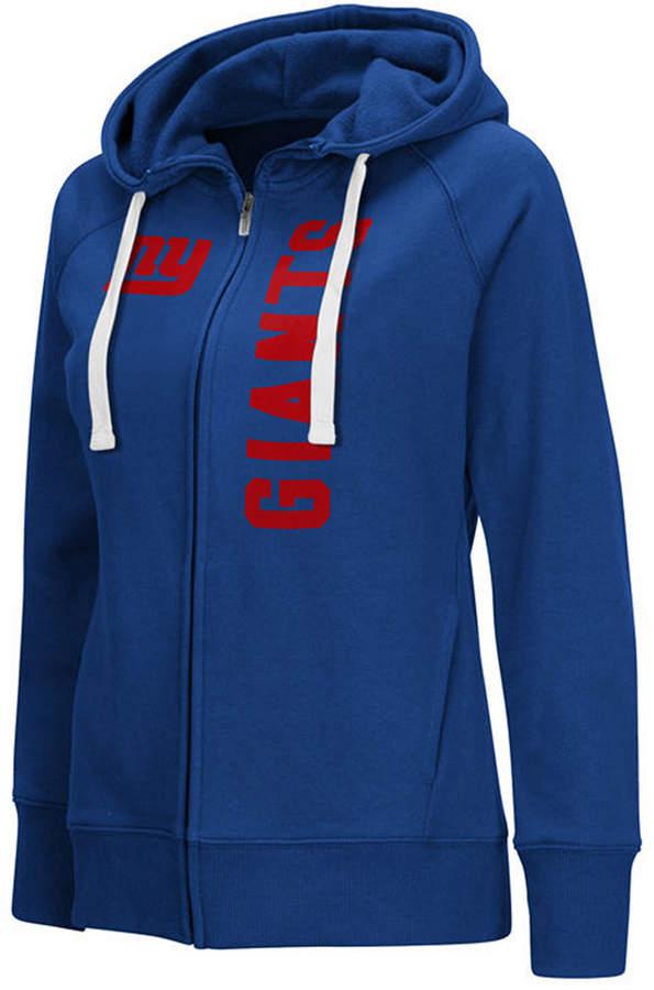 huge sale def7a 03055 G-iii Sports Women New York Giants 1st Down Hoodie