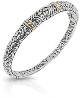 Effy Jewelry Effy 925 Sterling Silver and 18K Gold Bangle
