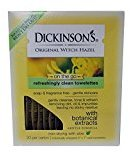 Dickinson's Dickinsons Original Witch Hazel Oil Controlling Towelettes - 20 Ea, 3 Pack
