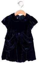 Roberto Cavalli Girls' Velvet Draped Dress w/ Tags
