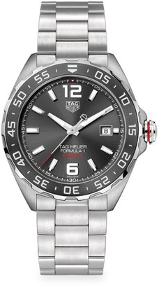 Tag Heuer Formula 1 43MM Stainless Steel & Ceramic Automatic Bracelet Watch