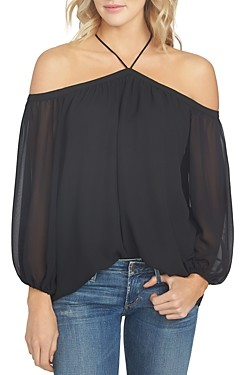 1 STATE Cold-Shoulder Blouse