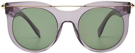 Alexander McQueen Round Sunglasses