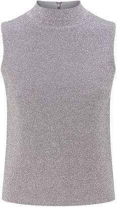 Alice + Olivia Lanie Sleeveless Top