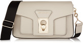 Karl Lagerfeld Leather Shoulder Bag - Off-white
