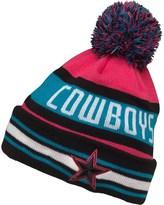 New Era NFL Dallas Cowboys Knitted Bobble Hat Miami Vice