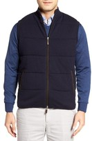 Peter Millar Men's Quilted Wool & Cotton Vest