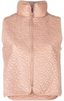 See by Chloe Big Bisou lightweight puffer gilet