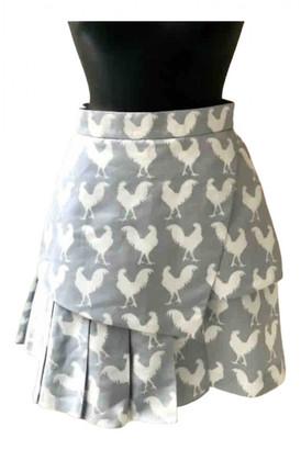 Awake Grey Polyester Skirts