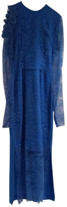 Preen by Thornton Bregazzi Blue Lace Dresses