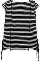 3.1 Phillip Lim Striped Cotton-jersey Top