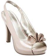 Xhilaration Women's Tacey Ruffle Platform Sandals - Blush Patent