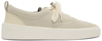 Fear Of God Grey 101 Lace-Up Sneakers