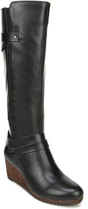 Dr. Scholl's Dr. Scholl Check It Wide Calf Tall Boots Women Shoes