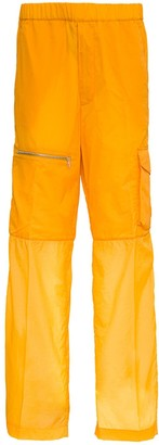 Moncler Cargo Trousers In Ripstop Nylon By 1952
