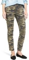 Mavi Jeans Women's Juliette Camo Print Military Cargo Pants