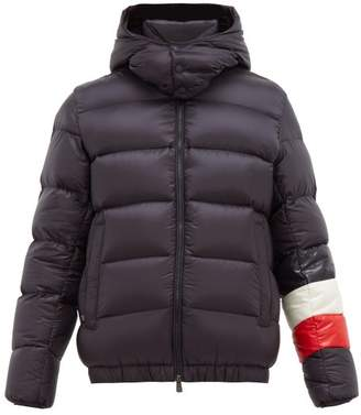 Moncler Willm Hooded Quilted Down Jacket - Mens - Navy