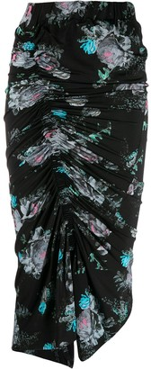 Preen by Thornton Bregazzi Becka floral draped skirt