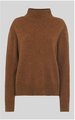Whistles Funnel Neck Yak Mix Knit