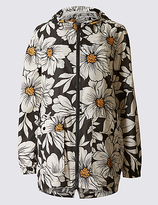 M&S Collection Pack Away Printed Anorak with StormwearTM