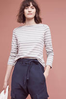The Lady & The Sailor Striped Boatneck Pullover