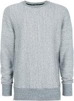Bassike crew neck sweatshirt