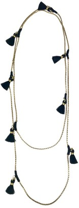 Slate & Salt Ananya Tassel Necklace