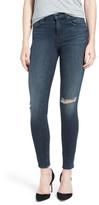 J Brand Maria Ripped High Rise Skinny Jeans