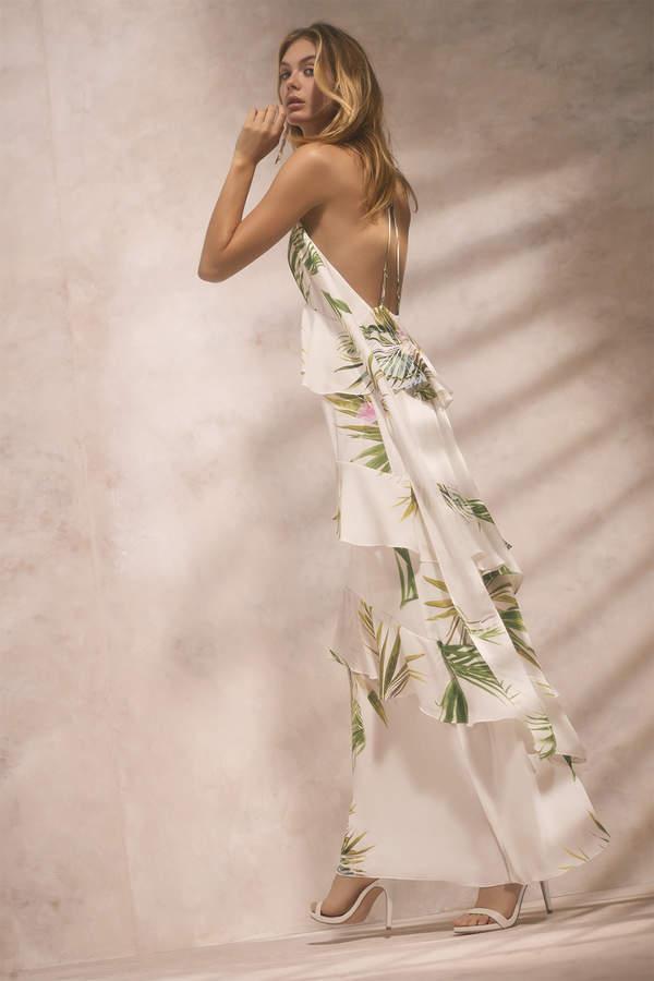 Natori Orchid Maxi Dress