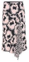 Diane von Furstenberg Posey Printed Silk Skirt