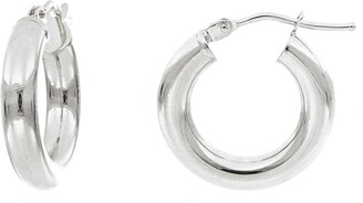 Bony Levy Essentials 14K Gold Smooth Hoop Earrings