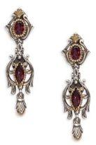 Konstantino Artemis Rhodolite, 18K Yellow Gold & Sterling SIlver Earrings
