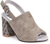 Muk Luks Marina Women's Chunky Heel Sling-Back Sandals