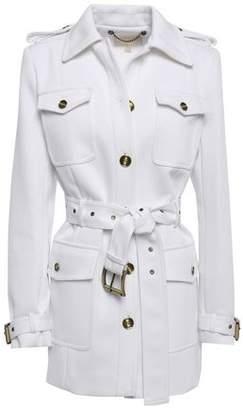 MICHAEL Michael Kors Belted Twill Jacket