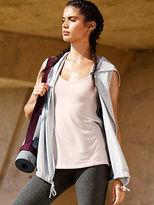 Victoria Sport Yoga Sleeveless Hooded Cardigan