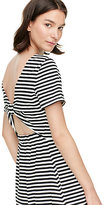 Kate Spade Stripe twist back dress