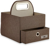 JJ Cole Diaper and Wipes Caddy in Slate