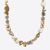 J.Crew Factory Stone parade necklace