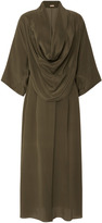 Michael Kors Cowl Neck Kimono Shirt Dress