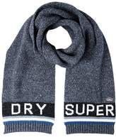 Superdry Scarf Charcoal/marine