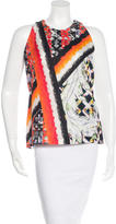 Peter Pilotto Textured Silk Top