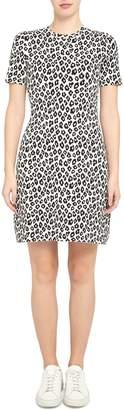 Theory Leopard-Print T-Shirt Dress