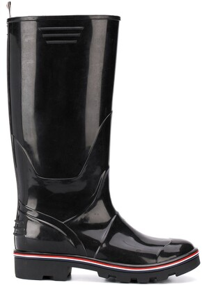 Thom Browne Molded Rubber Wellington Boot